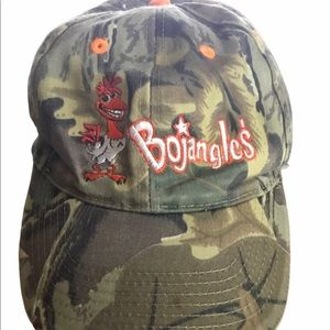 Otto camouflage hat green os Velcro back bojangles
